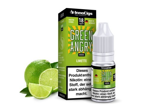 Green Angry E-Liquid 10ml InnoCigs