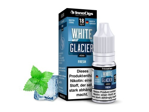 White Glacier Liquid 10ml InnoCigs