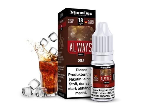 Always Cola E-Liquid 10ml InnoCigs