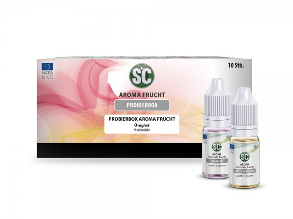 Liquid Probierbox Fruit von SC